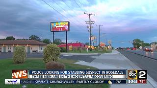 One stabbed, two others attacked at El Rich Motel in Rosedale - Video