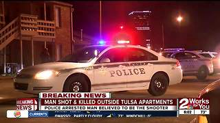 Police investigating overnight shooting near downtown - Video