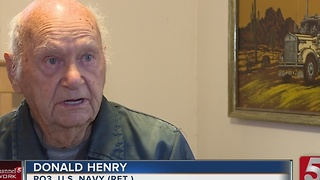 Local Navy Veteran Remembers Pearl Harbor Attack - Video