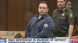 Man sentenced in murder of Detroit firefighter - Video