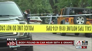 Police investigate after woman found dead in car - Video