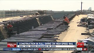High-Speed Rail construction in full swing in Wasco