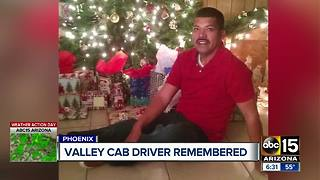 Valley cab driver remembered after deadly crash - Video