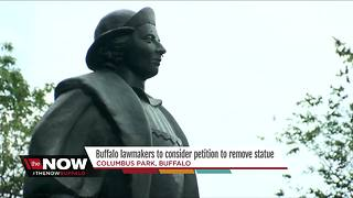 Buffalo considers removing Columbus statue, renaming park - Video