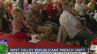 West Valley republicans preach unity after inauguration - Video