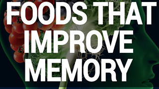 Foods that can help improve your memory