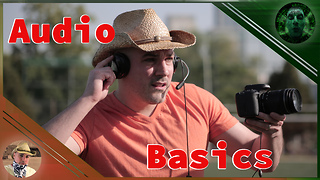 How to set audio settings in a DSLR camera - Video