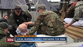 Tampa Bay area nursing home preparing for Hurricane Irma - Video