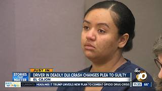 Driver pleads guilty in deadly DUI crash - Video