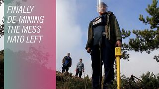 Cleaning Kosovo, one mine at a time - Video