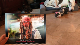 Personalized Calendar Has Friends Howling with Laughter  - Video