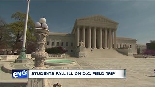 Health officials investigating following reports of illness connected to Washington D.C. field trips
