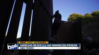 Poll shows many Americans believe country has immigration problem - Video