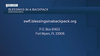 Blessing in a backpack initiative