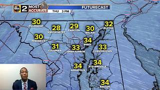 Falling Temps Bring More Ice for Maryland - Video