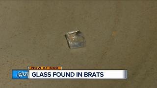 Glass found in brats from Brookfield Fresh Thyme - Video