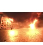 Prison Workers Burn Pallets, Tires in Protest of Dangerous Conditions - Video