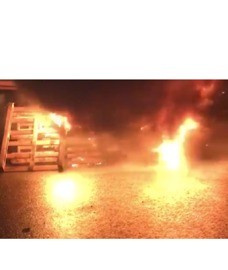 Prison Workers Burn Pallets, Tires in Protest of Dangerous Conditions