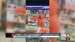 Family Dollar Robbery Investigation - Video