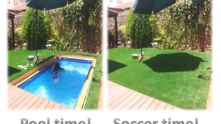 How To Transform Your Backyard Into An In-Ground Swimming Pool - Video
