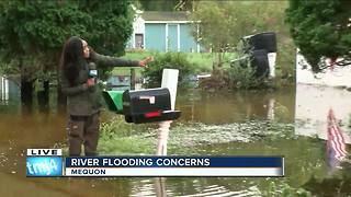 SE Wisconsin dealing with river flooding concerns - Video