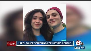 Couple mysteriously disappears after visiting family in Indy, car found abandoned in Madison Co. - Video