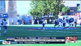 Tulsa Football gears up for first meeting with Texas Longhorns