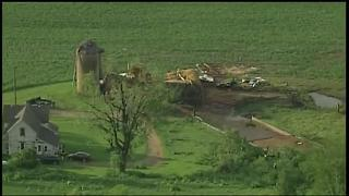 Severe weather damage in Pierce County - Video