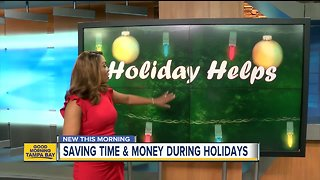 How to save time and money during the holidays - Video