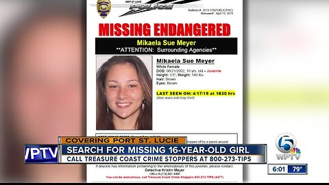 16-year old girl missing from Port St. Lucie