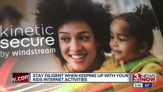 Stay diligent with children's internet usage