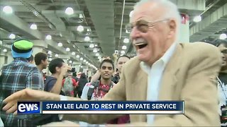 Stan Lee remembered in private memorial service