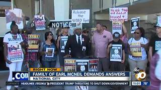 Family of Earl McNeil demands answers