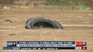 Storm continues to bring heavy rain to Kern County
