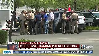 Las Vegas police involved in Centennial Hills shooting - Video