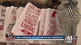 Small business join together for mall marketplace
