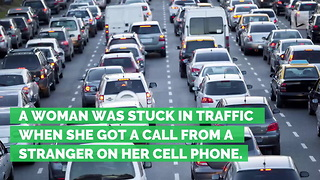 Stranger Calls Number on Side of SUV Spotted in Traffic Jam. Has Unusual Request - Video