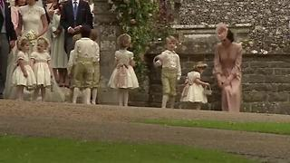 Prince George And Princess Charlotte Will Reprise Their Adorable Appearance At The Wedding In May - Video