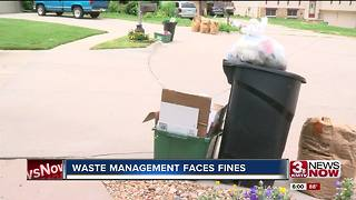 Waste Management collection fined repeatedly - Video