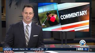 COMMENTARY: ESPN 106.3's Paxton Boyd gives his take on Tiger Woods' recent hot streak - Video