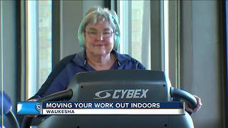 Moving your work out indoors for winter - Video