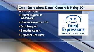 Workers Wanted: Great Expressions Dental Centers is hiring - Video