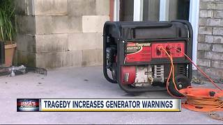 Hurricane Irma: Generator safety tips