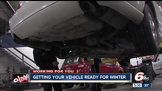 Getting your vehicle ready for winter - Video