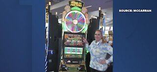 Tourist wins jackpot at Las Vegas airport