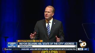 "Mayor delivers ""State of The City"" address"