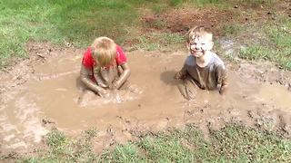 """Fun With Mud Puddles! 