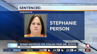 Woman arrested for stealing from Girl Scouts Organization - Video