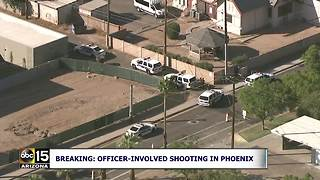 Suspect dead in Phoenix officer-invovled shooting - Video