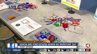 Edison and Ford Winter Estates celebrate National Kid Inventors' Day - 7am live report - Video